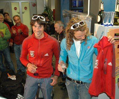 Luca Schiera e il maglione rosso