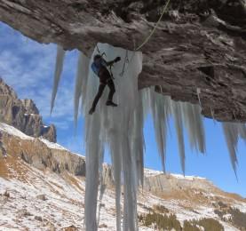Arrampicata in dry tooling e su ghiaccio