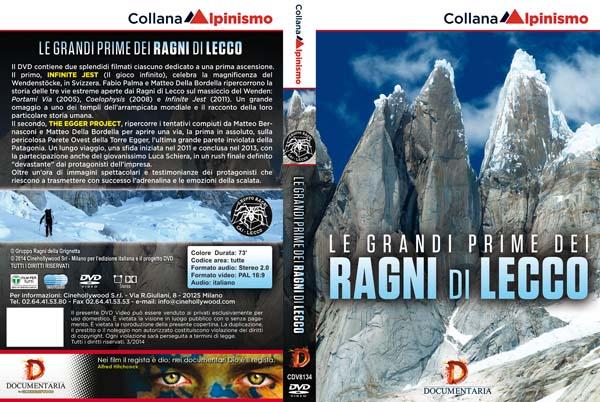 Le grandi imprese dei Ragni di Lecco in DVD
