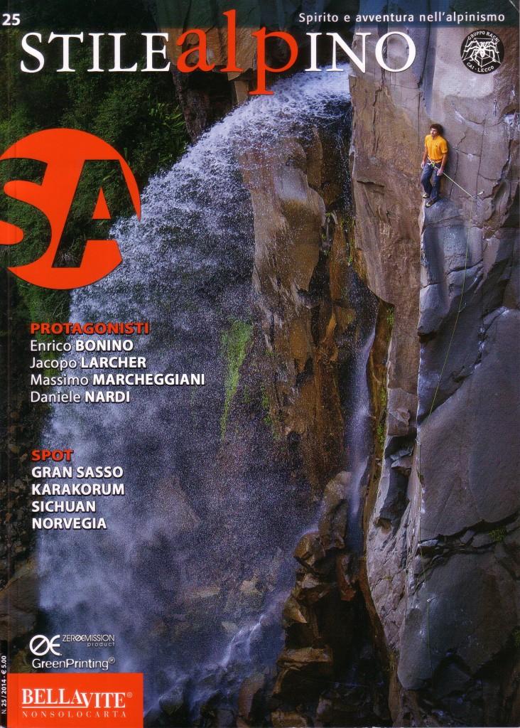 copertina stile alpino numero 25