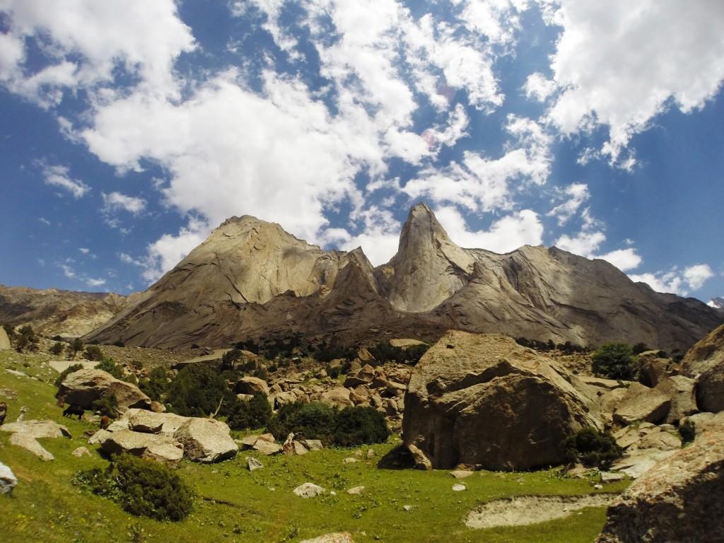 Aksu valley, kyrgyzstan climb
