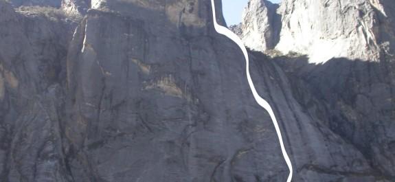 Qui io vado ancora Punta Numa tracciato