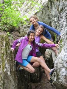 Alice, Elisa e Giorgia