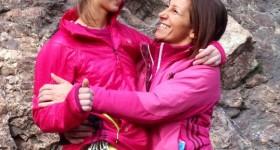 Anna Aldè Scarenna con Giovanna Pozzoli