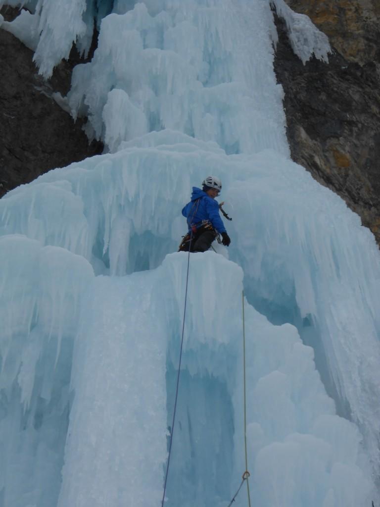 Le caratteristiche formazioni glaciali di Kerze