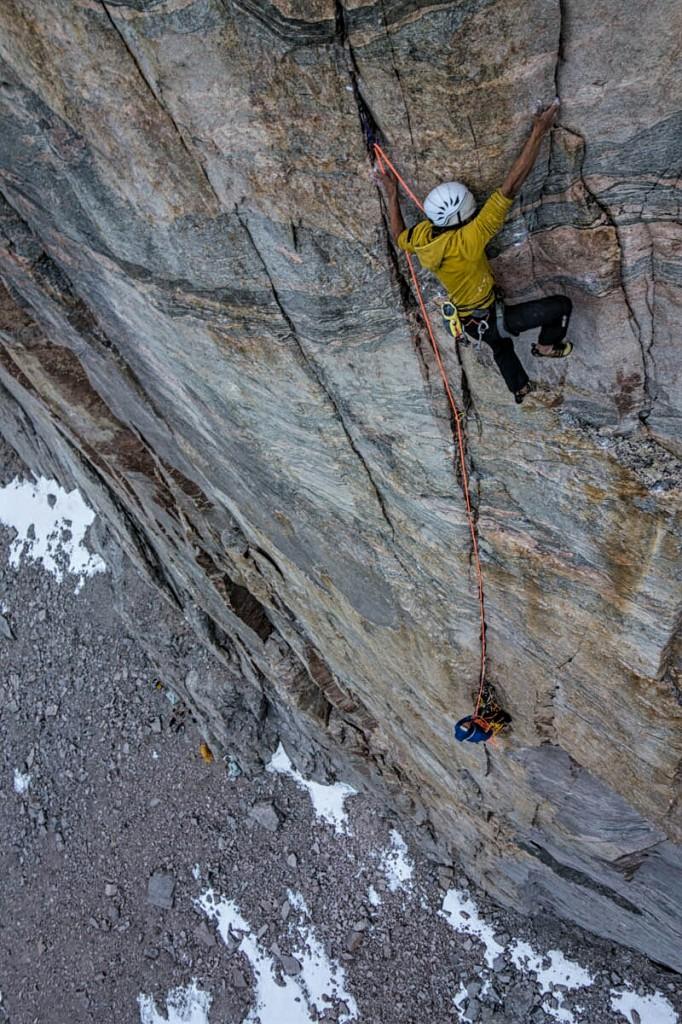 In arrampicata sulle splendide pareti della Terra di Baffin