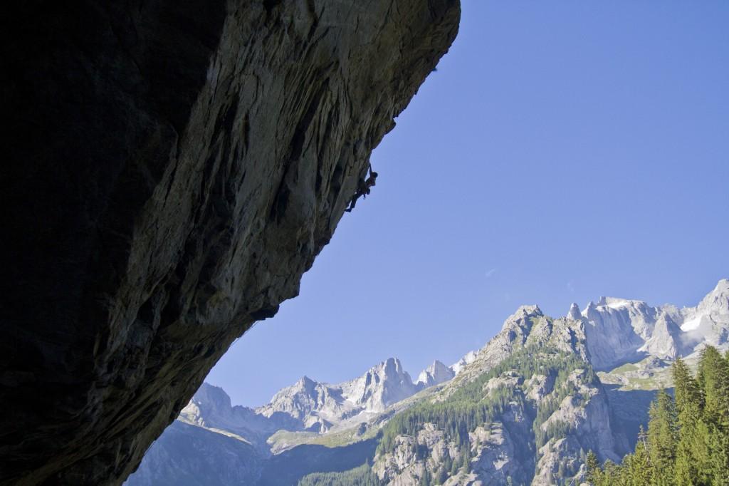arrampicata in Val Romilla