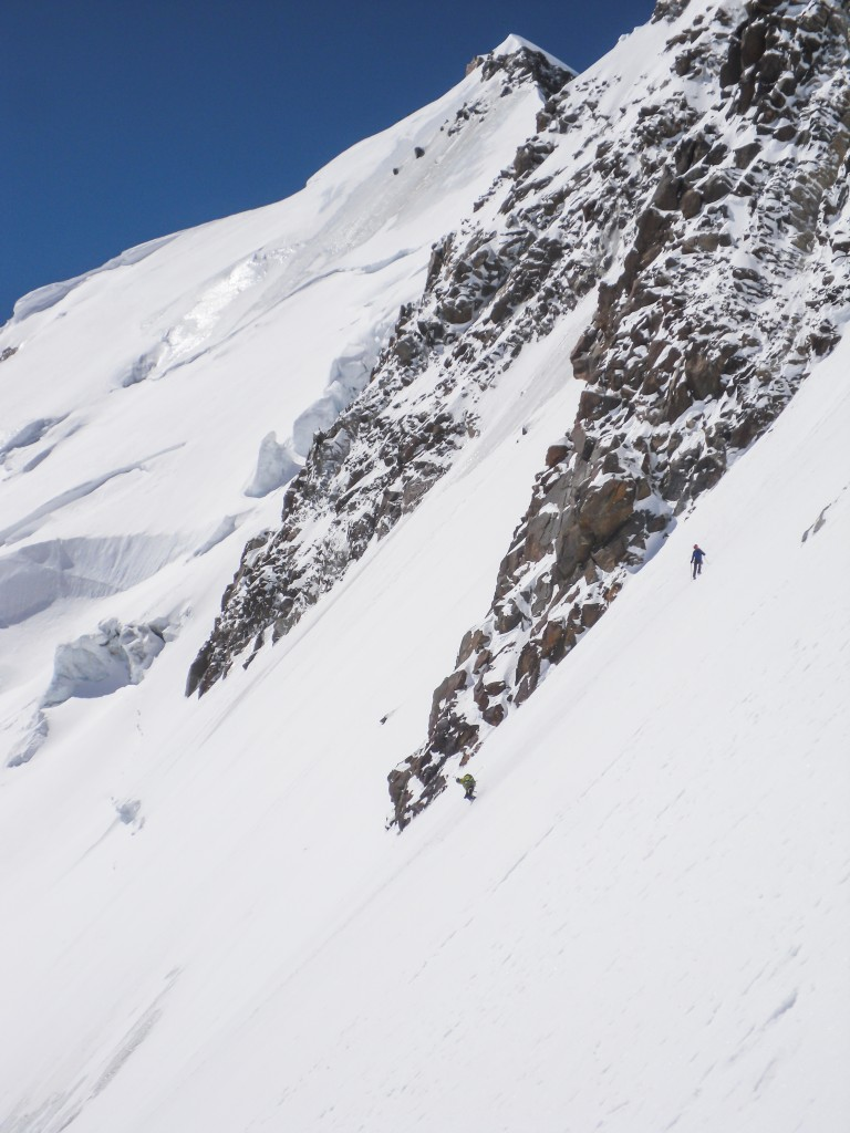 MONTEROSA _ MERINELLI couloir _ 40