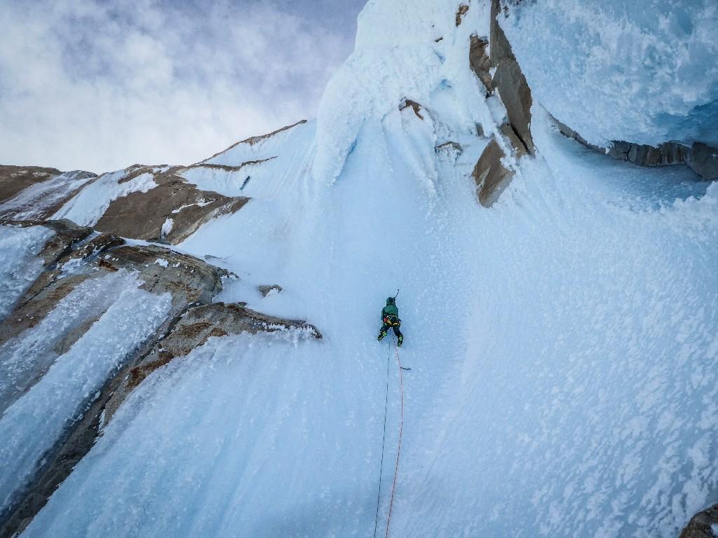 Qualcuno la considera la via di ghiaccio più bella del mondo... come dargli torto?