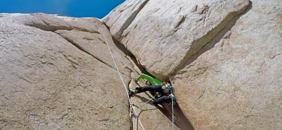 tentativo in stile alpino sulla est del cerro torre
