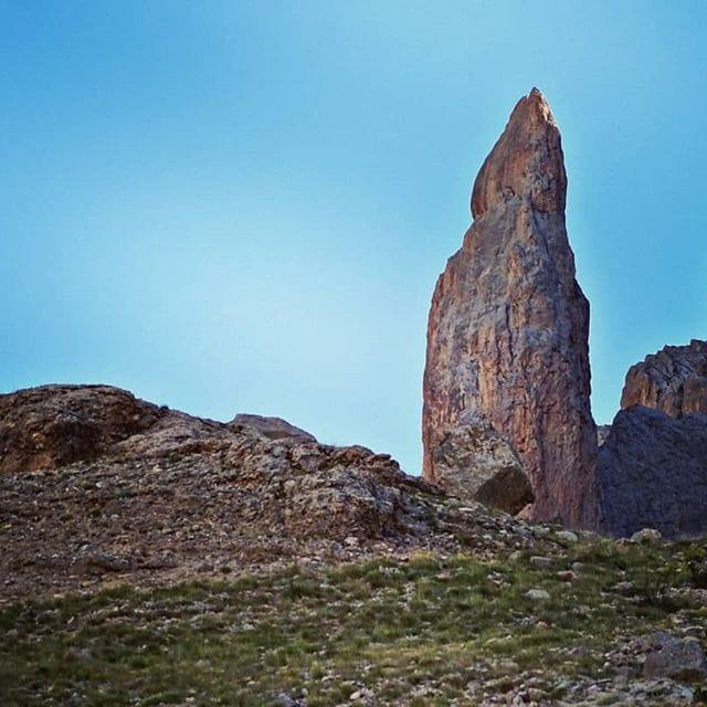 Una delle magnifiche torri dei monti Aladaglar