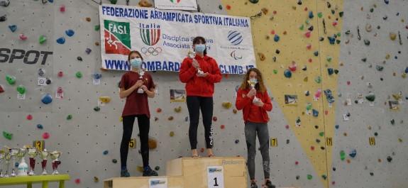 Giulia e Jennifer podio U16F