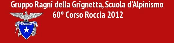 Logo Corso Roccia 2012
