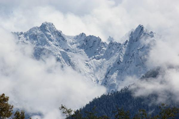Picchi 5000 metri pareti Nord